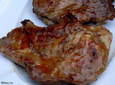 Apricot Glazed Grilled Pork Chops