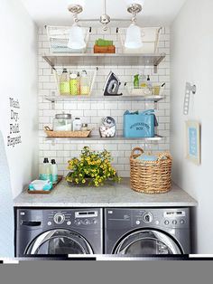 Perfect for small laundry room