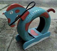 Brilliant Ways, alte Reifen in etwas neues Garten-… – … Brilliant Ways, old tires in a new …