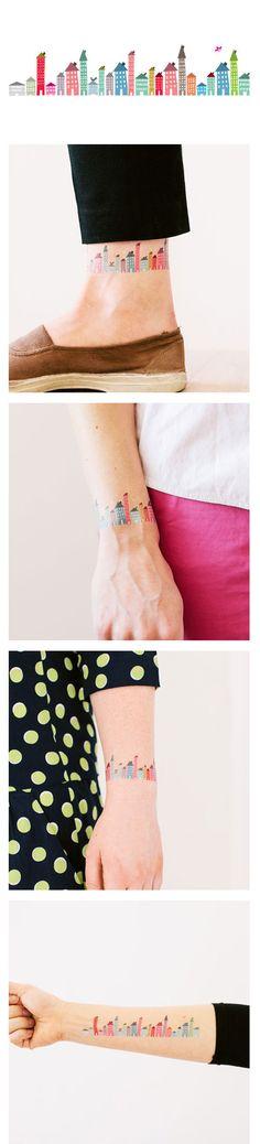 New Tattly design by Illustrator Judy Kaufmann