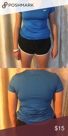 NIKE dri fit athletic shirt Blue shirt dri fit Nike Nike Tops Tees - Short Sleeve