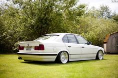 (photo by Sid Titus) Bmw E34, E30, 4x4 Wheels, Bmw Classic Cars, Bmw Series, Exotic Cars, Cars Motorcycles, Photo And Video, Slammed