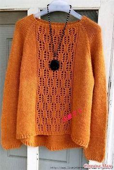 Modny Sweterek dla wszystkich grup wiekowych .. szprych.
