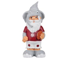 Forever Collectables Ncaa Thematic Gnome Version 2, University of Alabama Crimson Tide, Yellow