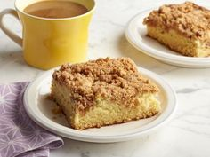 Get this all-star, easy-to-follow Deluxe Coffee Cake recipe from Alex Guarnaschelli