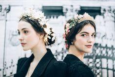 Backstage Reem Acra Fall 2015. / Wedding Style Inspiration / LANE