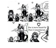 Yap!!! She's really beautiful!!! -NaLu Manga-