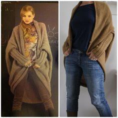 knitting coat  pattern Fato a mano 177