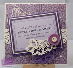 Rach Webber - Crafter's Companion Downton Abbey Range: Sentiment from CD, Paper Pad, Feather Brooch, Chandalier and Elegant Border Dies - Crafters Companion Cards, Card Making Kits, Downton Abbey, Paper Cards, Blank Cards, Homemade Cards, I Card, Cardmaking, Day