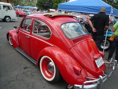 vw red rag top
