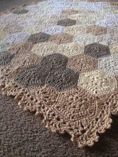 Blanket? Placemat? Catan Board? Crochet Inspiration