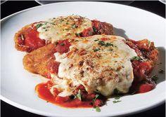 The CLASSIC chicken parmesan, a la Mario Batali