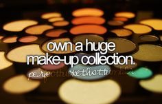 and I do mean HUGE, I think a shopping spree to Sephora and MAC could take care of that!!