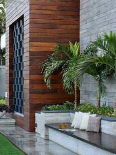 Discover recipes, home ideas, style inspiration and other ideas to try. Village House Design, Bungalow House Design, House Front Design, Modern House Design, Rooftop Design, Terrace Design, Villa Design, Entrance Design, House Entrance