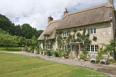 Cottage anglais, le jardin