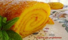 Brazo de naranja, receta portuguesa.