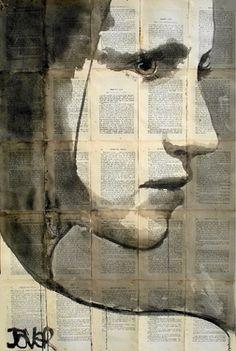 "Saatchi Online Artist: Loui Jover; Pen and Ink, 2013, Drawing ""eternal"""
