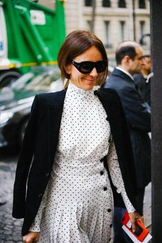 If there's a print I can't get enough of this summer, it's polka dots! I've rounded up 15 polka dot pieces that are perfect for summer below. Modest Fashion, Love Fashion, Autumn Fashion, Style Fashion, Dope Outfits, Fashion Outfits, Fashion Trends, Dress Fashion, Fashion News