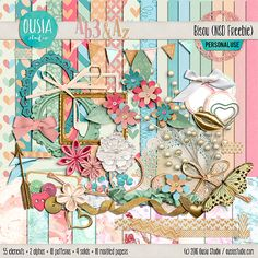 Please enjoy this freebie from Ousia Studio!