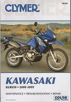 17 best klr 650 manuals images on pinterest klr 650 sportbikes 2008 2009 clymer kawasaki motorcycle klr650 service manual new m240 fandeluxe Gallery