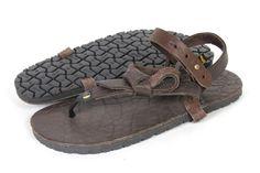 Dark Chocolate Mono Men's 4 Women's 6 - LUNA Sandals - 1
