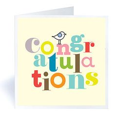 Congratulations Card - new job cards