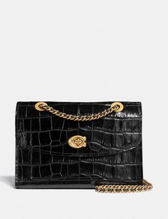 For more than just the ordinary. Make a statement in style. Leather Chain, Leather Purses, Coach Outfits, Coach Leather Cleaner, Womens Purses, Chanel Handbags, Luxury Handbags, Casual Bags, Coach Purses