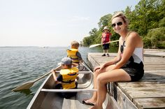 Go on a canoe trip this summer at YMCA of Simcoe/Muskoka's summer camp in Orillia