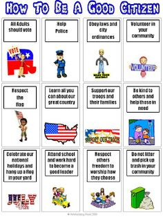 Printables Citizenship Worksheets citizenship good citizen and belt on pinterest how to be a citizen
