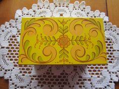 Vintage Recipe Box by Avon 1970s Design by vertzvkv on Etsy, $18.00