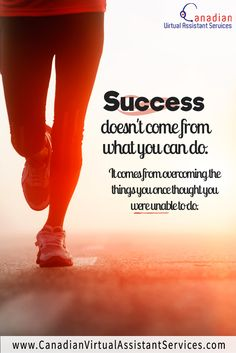 Success doesn't come from what you can do, it comes from overcoming things you once thought you were unable to do. Word 365, Social Media Quotes, Virtual Assistant Services, Journey Quotes, Marketing Quotes, Top Quotes, Entrepreneur Quotes, What You Can Do, Business Quotes