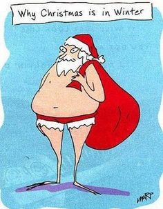 Why we're so very GLAD Christmas is in Winter!! ;-D