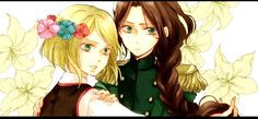Hetalia Nyo! Poland and Nyo! Lithuania