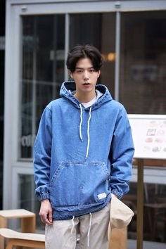 go sanggil^^ As marri Cute Korean Boys, Korean Men, Asian Boys, Asian Men, Korea Fashion, Punk Fashion, Boy Fashion, Fashion Outfits, Pretty Boys