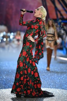 Lady Gaga Photos Photos: 2016 Victoria's Secret Fashion Show in Paris - Show