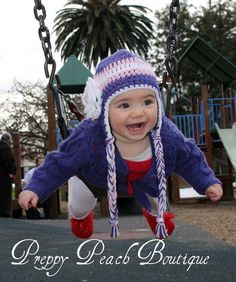 Crochet Baby Hats Photography Prop Girl Hats by preppypeach, $25.95