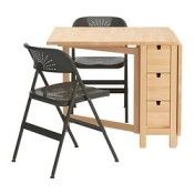IKEA NORDEN/FRODE Table et 2 chaises (réf.: S59932071)