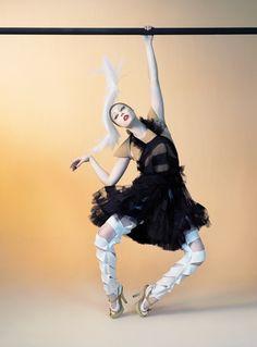 Magazine: Les Echos – Série Limitée  Editorial: Espirits Couture par Jean-Paul Gaultier  Photographer: Sophie Delaporte  Model: Coco Rocha