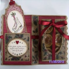 Winter Memories Tealight Card Inside by mommamimi2 - Cards and Paper Crafts at Splitcoaststampers