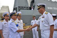 Tin Tức Quân Sự Chiếm hạm Việt Nam ghé thăm Philipines