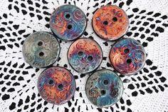 raku rounds, ceramic
