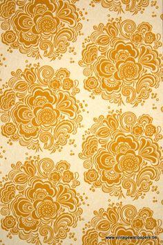 Geometric Wallpaper Baroque Style Pattern