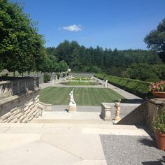 One of the Gardens at Biltmore.