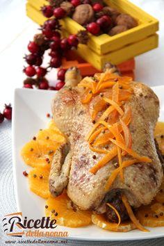 Anatra all'arancia - Orange duck