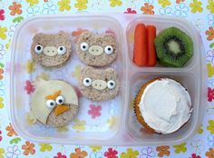 BentoLunch.net - An Angry Birds #Bento for the Boy!