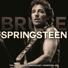 Bruce Springsteen - Human Rights Broadcast Argentina 1988 on Limited Edition Import 2LP July 15 2016