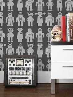 Big Robots Wallpaper in Thunder