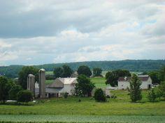 Amish farmland