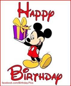 Mickey Mouse Happy Birthday!