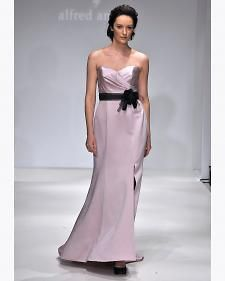 New bridesmaid dresses from Disney Fairy Tale Weddings by Alfred Angelo from the designer's Fall 2012 bridal runway collection.